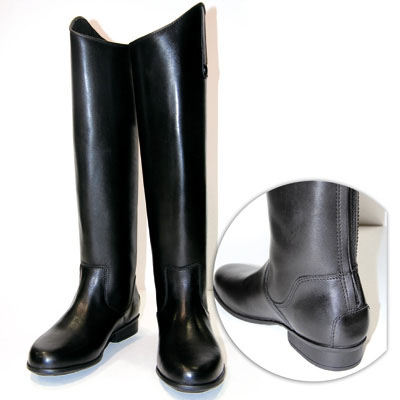 Bota zaldi para montar grace piel americana color marron for Botas montar a caballo