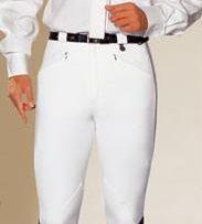 Pantalon-Zaldi-para-caballero-de-algodon-blanco-T42
