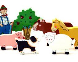 Rompecabezas-de-7-piezas-Farmyard-Animals
